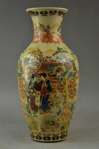 Old Handwork Jingdezhen Porcelain Painting Dowager Gd9169 photo