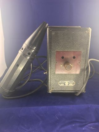 Master Electric Company Violet Ray Electrotherapy Medical Device photo