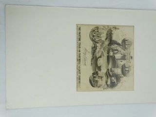 Antique C1845 The Parting Tear,  Or Farewell At Last Musical Bouquet Sheet Music photo