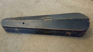 Antique Wood Violin Case Circa 1880 To 1920 photo