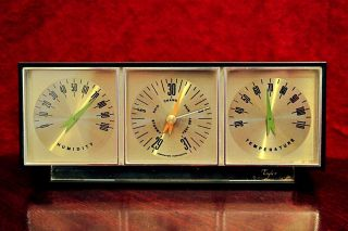 Vintage ' Taylor ' Desk Thermometer,  Barometer,  Hygrometer photo