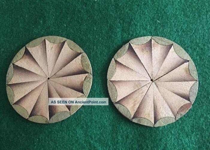 Circular Fan Inlay Patterns Edwardian (1901-1910) photo