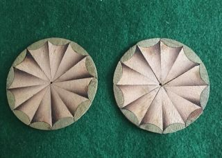 Circular Fan Inlay Patterns photo