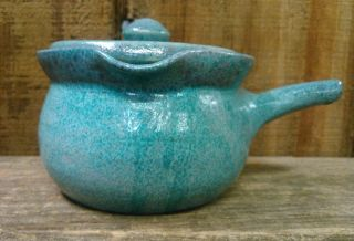 Vintage Antique Primitive Decoration Collectible Clay Pot Pottery Kitchen Deco photo