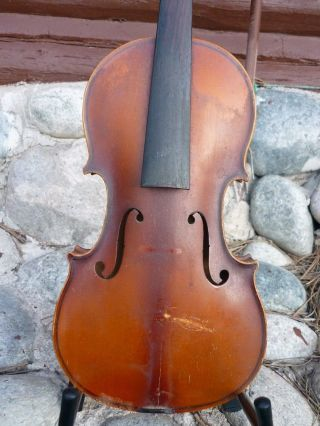 Old Vintage Violin,  Czech photo