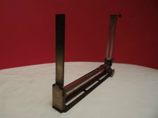 Level (alidade) C1890 (ladois) (plain Table) Brass (german Silvered) photo