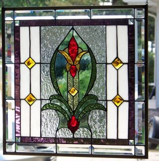 Stained Glass Window Hanging 21