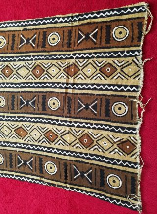 Authentic African Handwoven Bambar Mudcloth 64