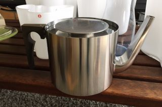 Allmodern Teapot Stelton Cylinda Arne Jacobsen Stainless Steel,  Iconic photo