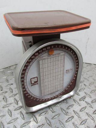 Vintage Pelouze 50 Lb X 2 Oz Parcel Post Scale Model Y - 50 photo