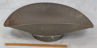 Scale Pan Tin Bucket Large Antique 1800 - 1900 photo