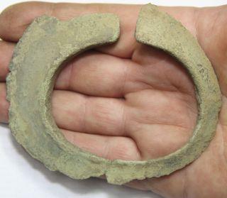 Viking Bronze Warrior Bracelet Weight - 95 Gr photo