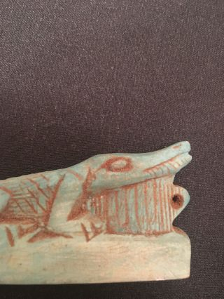 Rare Ancient Egyptians Amulet Crocodile 200 - 320 Bc photo