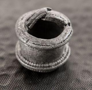 Ancient Pendant (aryballos) Perfume Bottle.  Sântana De Mureș Culture 2 - 5th C.  Bc photo