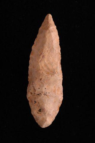 Neolithic,  Solutrean Knife Blade,  Paleo,  Dordogne Valley,  France photo