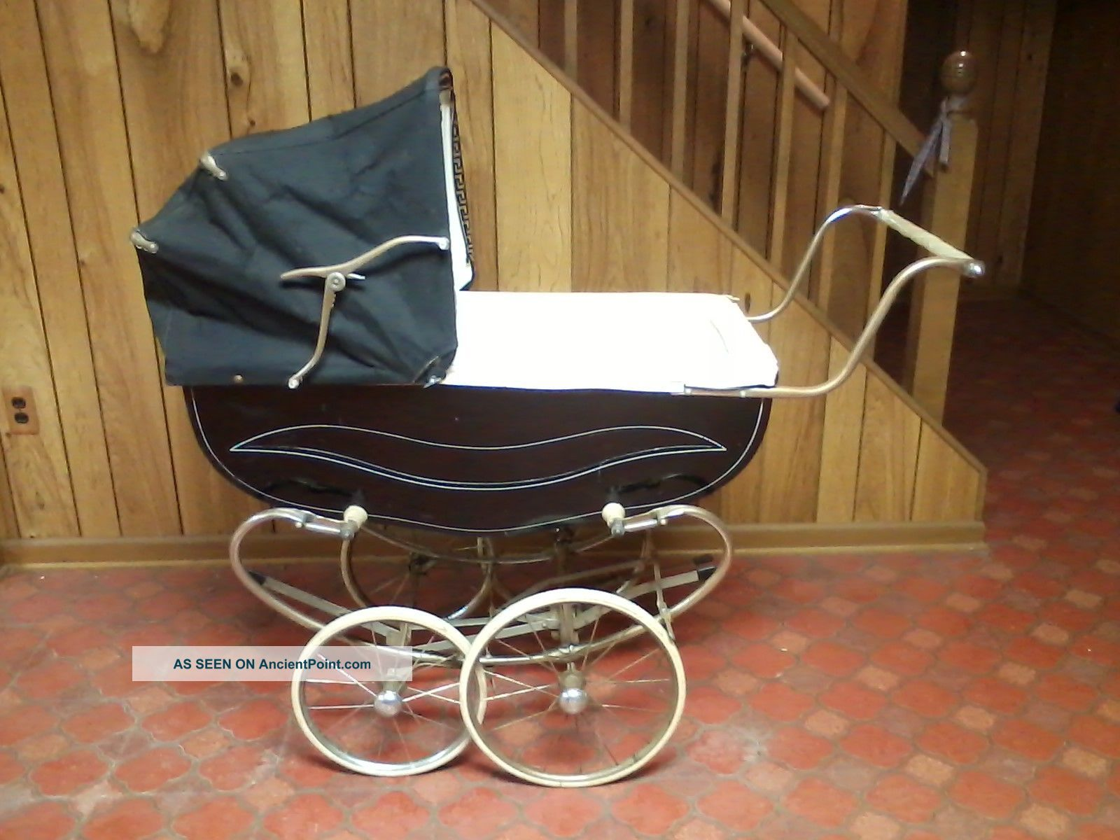 vintage baby carriage stroller buggy 1960s bilt rite