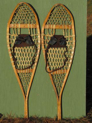 Antique Indian Snowshoes