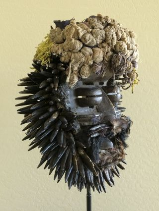 African Mask From The