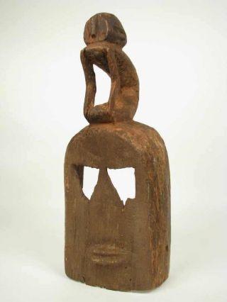 Early To Mid Century Dogon White Monkey Mask photo