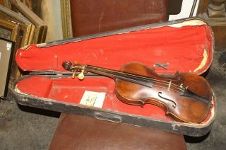 Old Antique Violin Johannes Cuypers 1790 photo