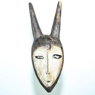 Lega Bwami Society Passport Mask - Dem.  Rep.  Of Congo photo