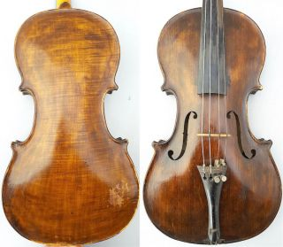 Fine Antique 4/4 1935 Franz Reicher German Violin Old Wood 小提琴 СКРИПКА Geige photo