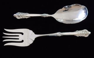 Wallace Grande Baroque Sterling Silver Serving 10