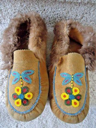 American Indian Moccasins Handmade photo