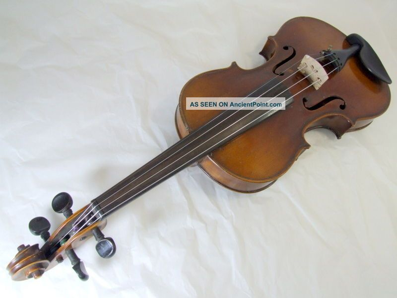 1920s 4/4 Violin Masakichi Suzuki No2 Mij Japan Antique String photo