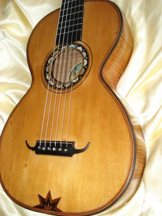 Romantic Guitar From Edmund Paulus Ca.  1920 photo