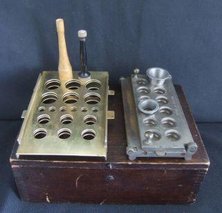 Vintage Apothecary Pharmacy Drugstore Cachet Apparatus Wooden Box C1910 - 1930 photo