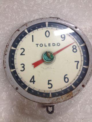 Antique Toledo Hanging Scale Model 2110 photo