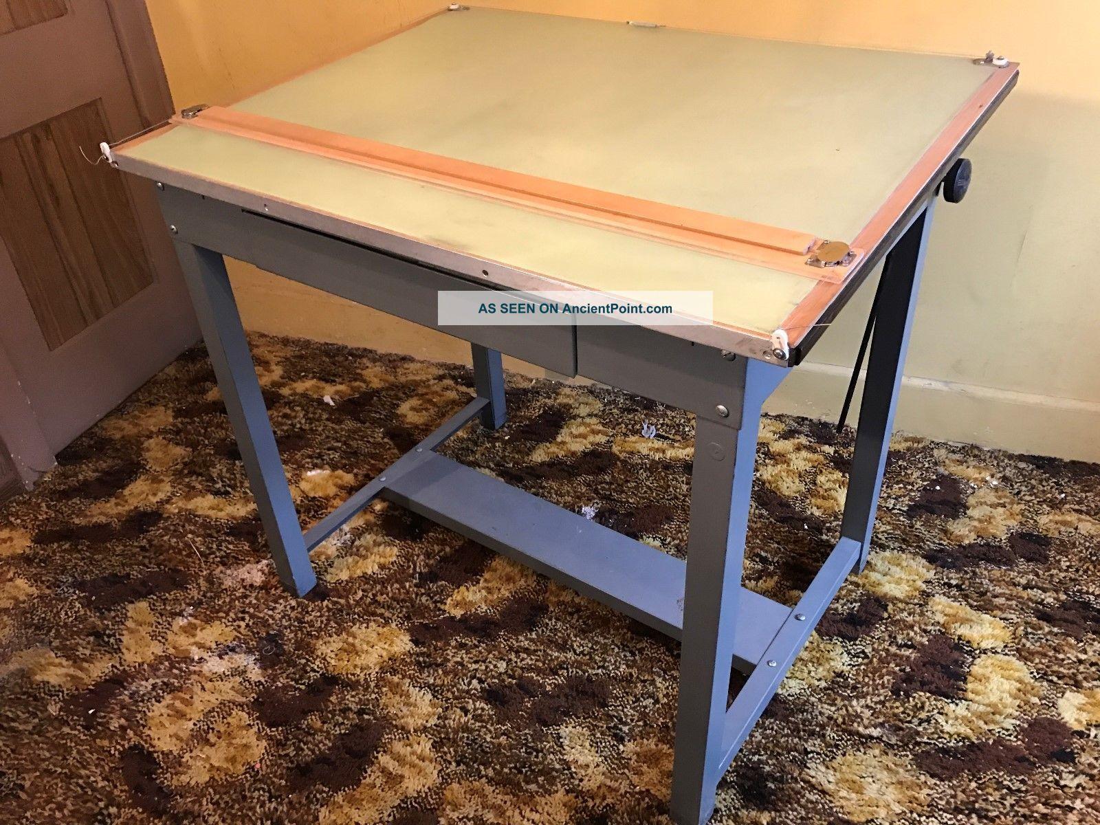 Drafting Table - Steel - Vintage Post-1950 photo