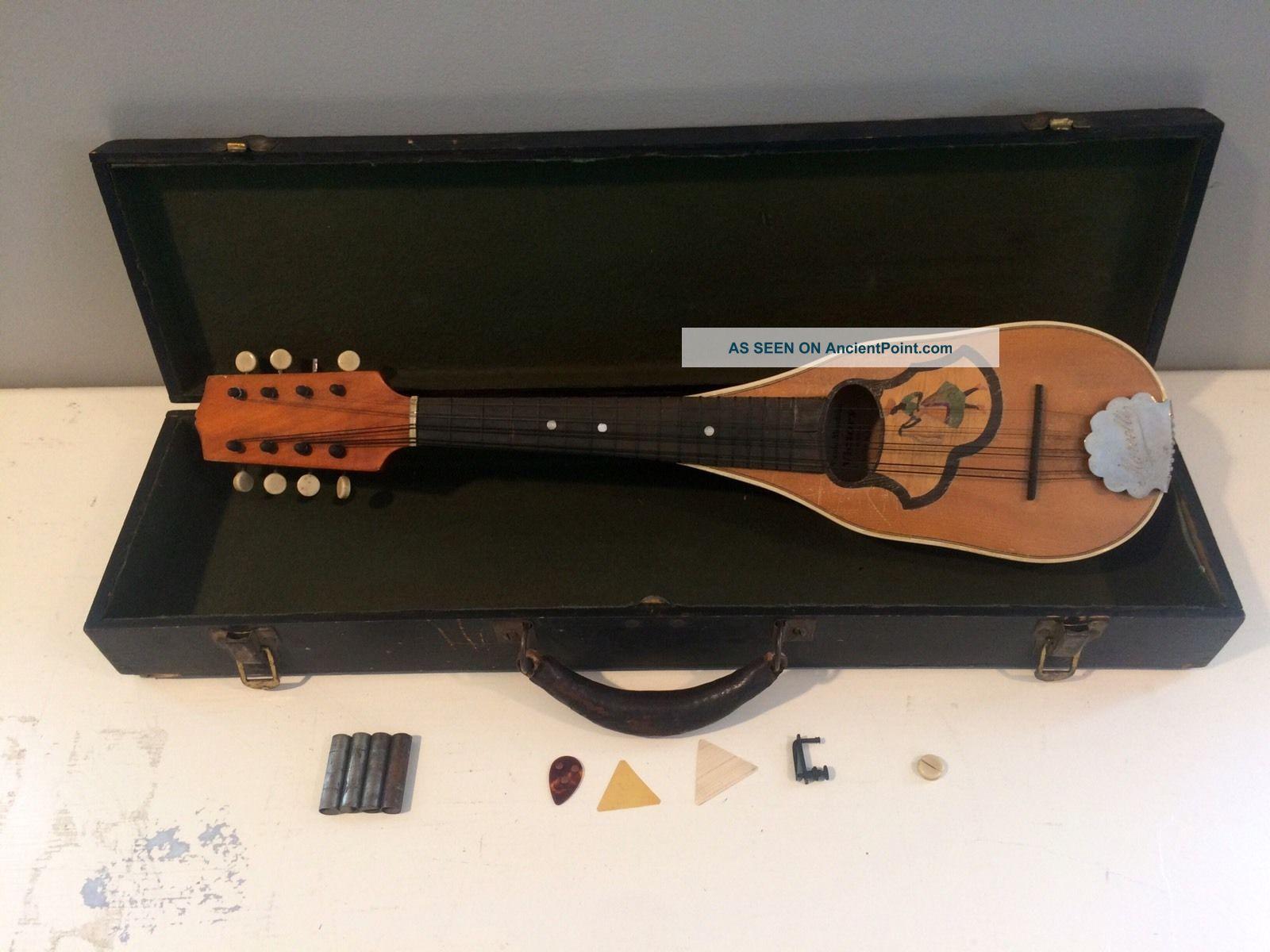 Antique Piccolo Pocket Mandolin String photo