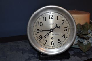 Chelsey Clock Co.  Boston With U.  S.  Marine Corp.  Logo photo