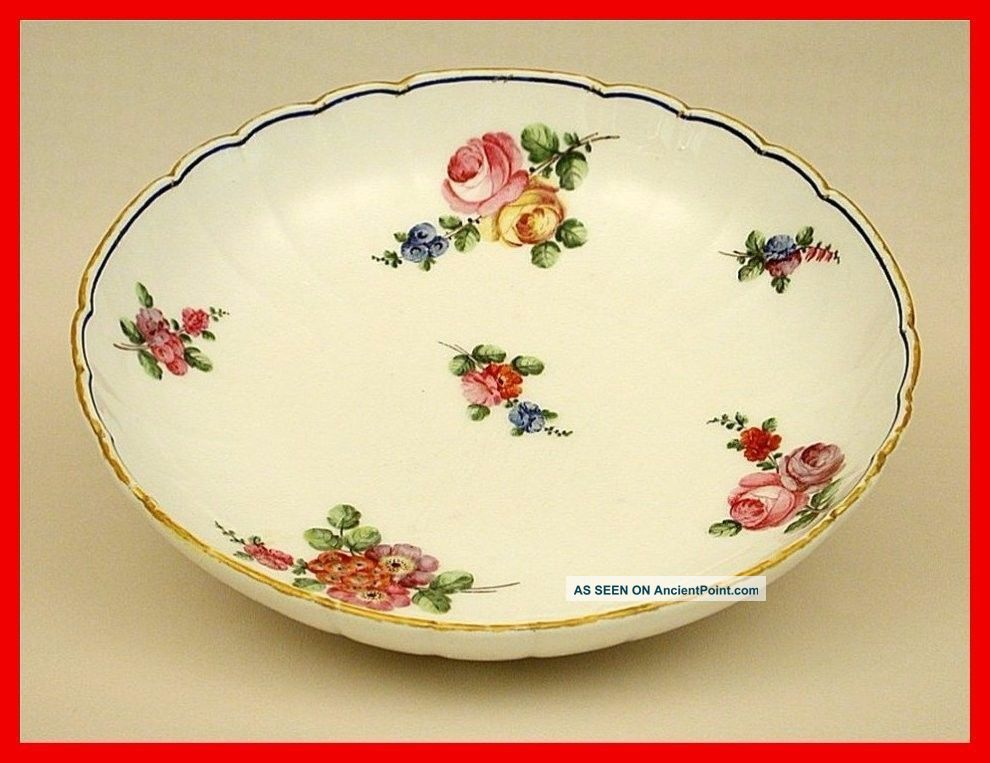 Sevres Porcelain (dish) With Date Letter For 1765 Painter
