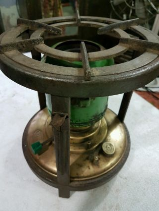 Antique Kerosene Cooking Firepit Wick Brass Tank Popular Camp Stove India photo