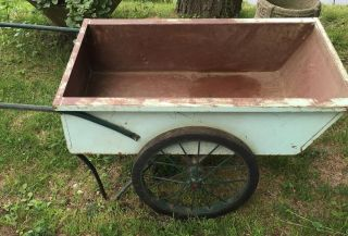 Antique Garden Cart The Town And Country Hinesburg Vermont photo