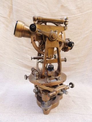 A Theodolite By Cooke Troughton & Simms photo