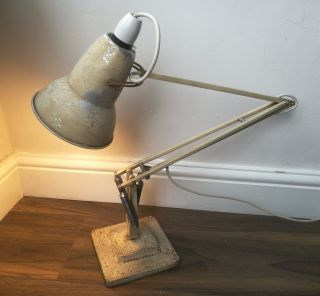 Vintage Retro Herbert Terry Anglepoise Light Desk Lamp photo