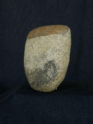 Regular Saharian Neolithic - Granite Axe - 67 Mm Long photo