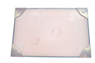 Fine Roycroft Art & Craft/mission Hammered Embossed Copper/ Card Broad Desk Pad photo