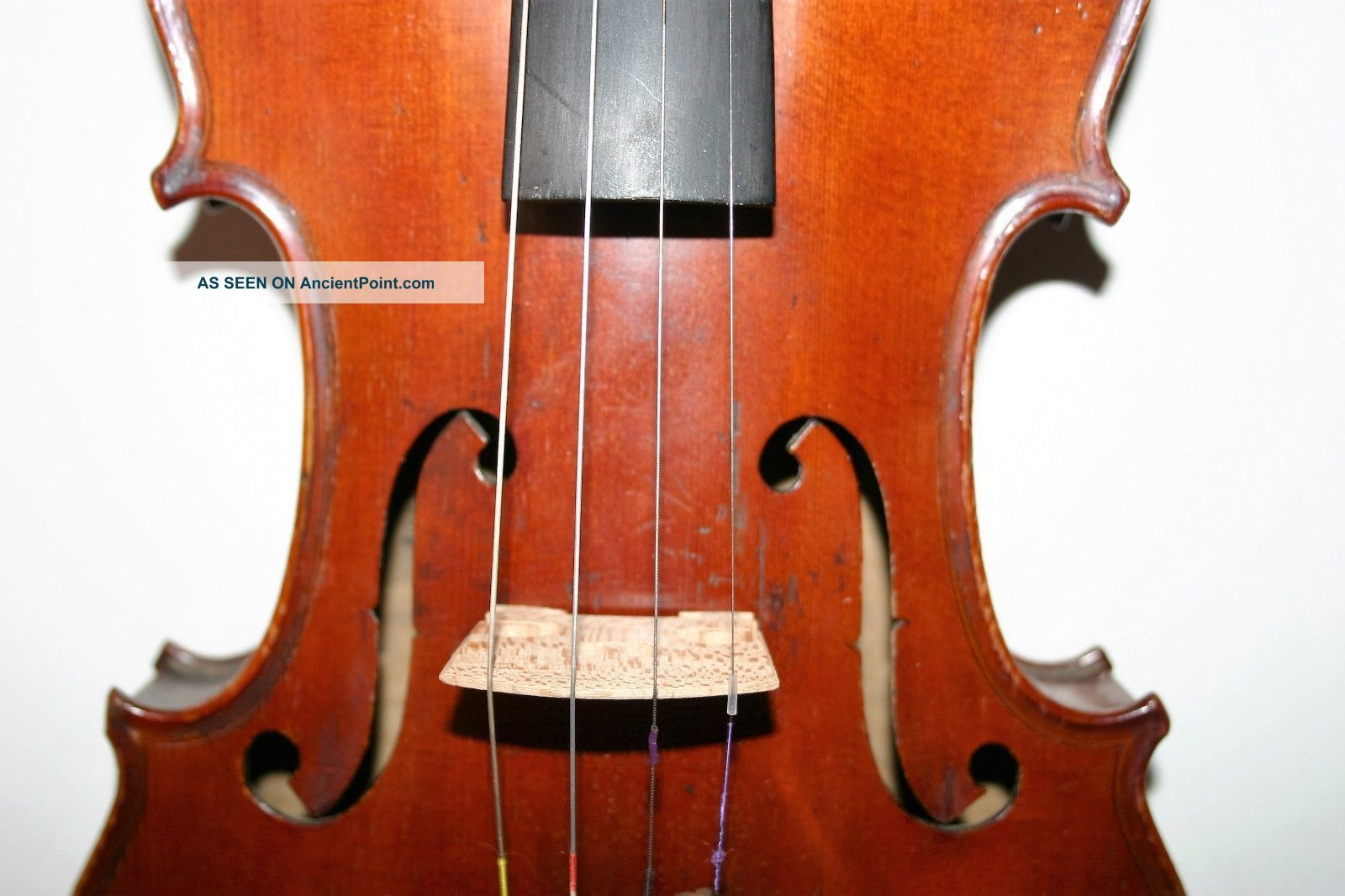 Old Antique French Violin Mich.  Couturieux Great Sound 2 Bows 4/4 Hill Case String photo