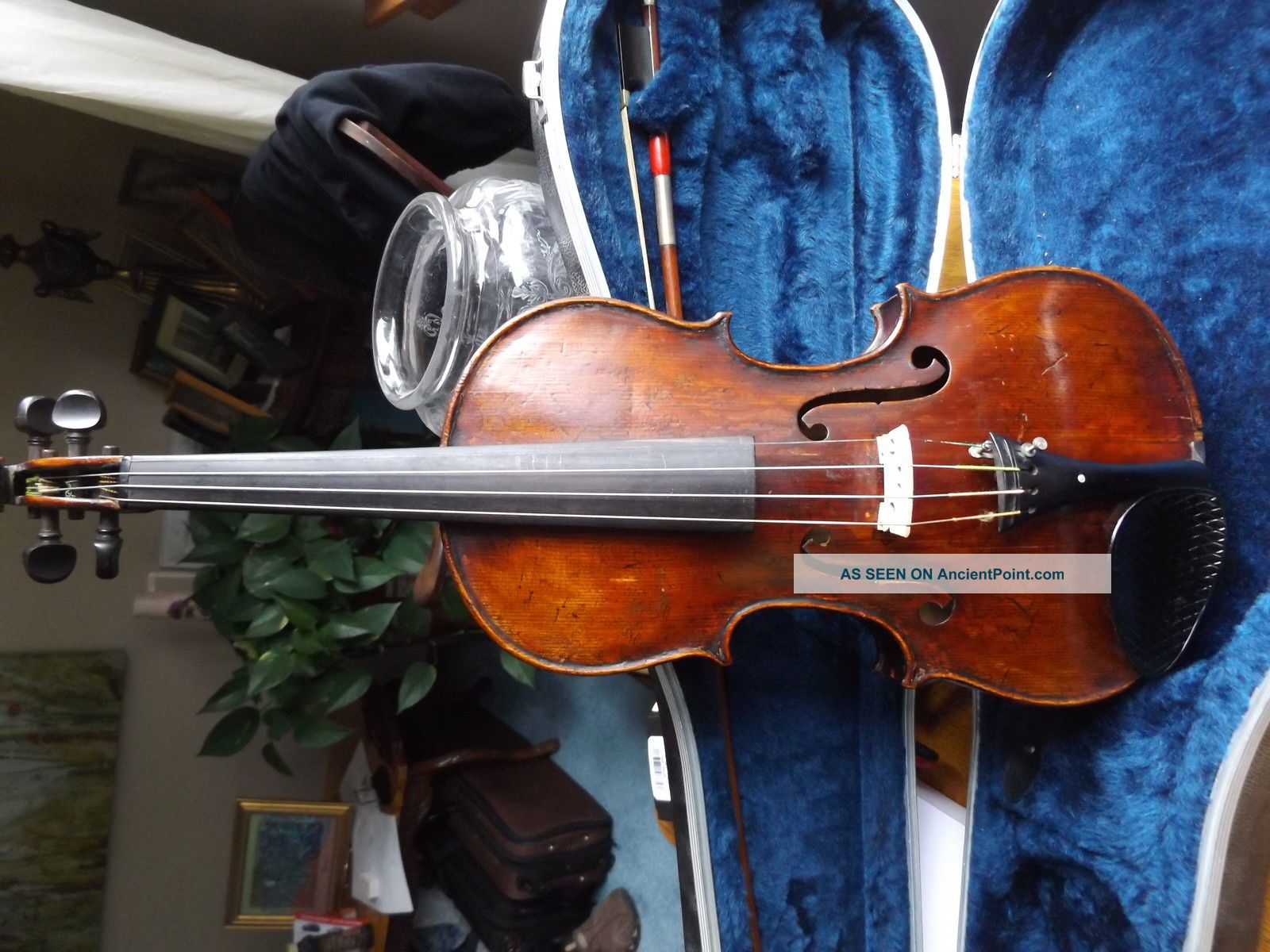 Antique Lowendall Labeled Violin Ready To Play String photo