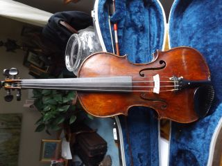 Antique Lowendall Labeled Violin Ready To Play photo