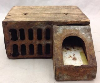 Rare Antique Delusion Mouse Trap Lovell Manufacturing Company Erie Pa photo