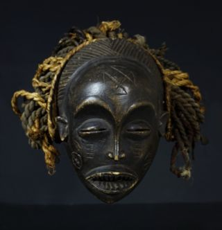 Chokwe Mwana Pwo Mask - Northwestern Zambia - Hai photo