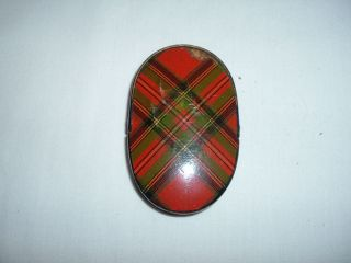Antique Tartanware Eyeglass Case,  Stuart Clan photo