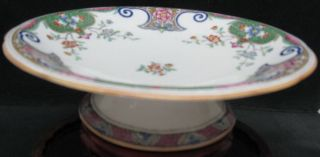 Antique Minton Compote Footed Dish Pattern B157 photo