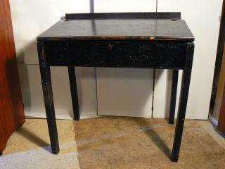 Antique Slant Top Desk Primitive 1800 ' S Farmhouse/mill/merchants photo